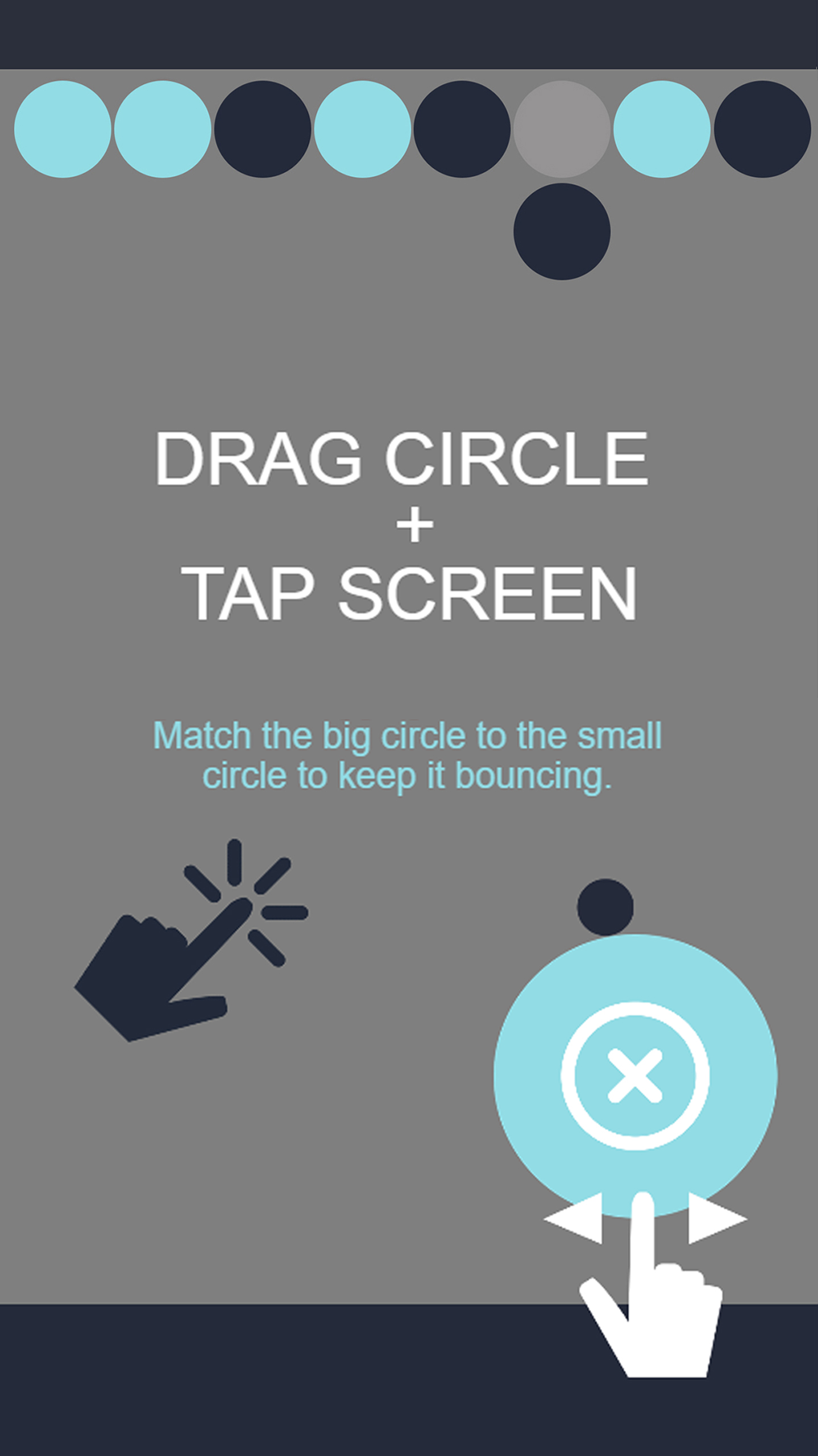 Discolor Rebounder - free game app example